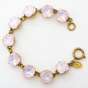 Catherine Popesco Crystal Bracelet Rosewater, 12mm